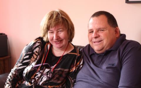 Amanda and Mark
