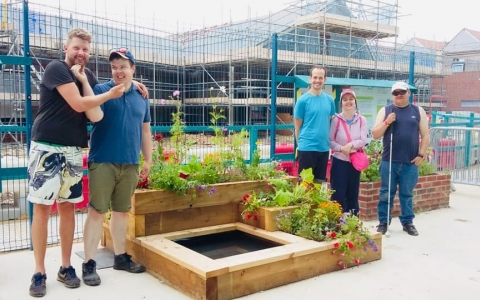 Planting Success at Easi Works
